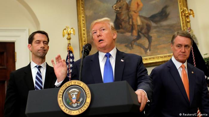 USA Donald Trump will auch legale Einwanderung erschweren (Reuters/C. Barria)