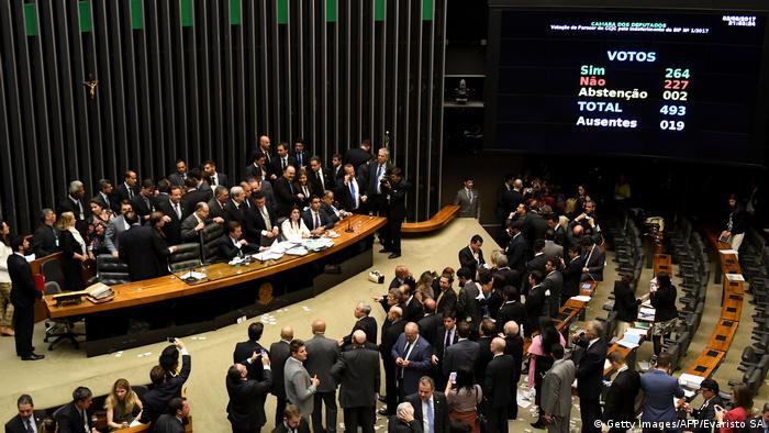 Brasilien Präsident Temer entgeht Suspendierung