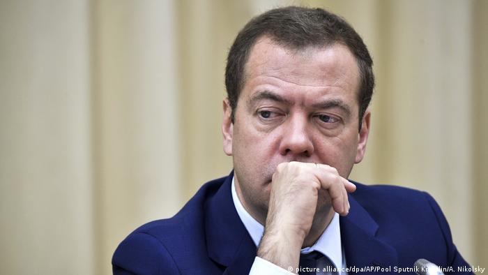 Dimitri Medvédev, primer ministro ruso.