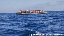 Migration Rettung von Flüchtlingen im Mittelmeer