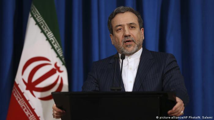Iran Vizeaußenminster Abbas Araghchi