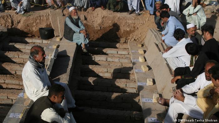 Afghanistan Begräbnis Opfer Anschlag Moschee in Herat (DW/Shoaib Tanha Shokran)