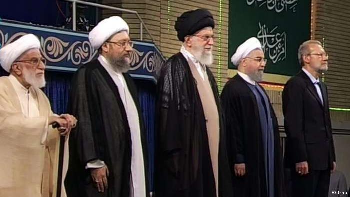 Iran Amtseinführung Präsident Rohani (Irna)
