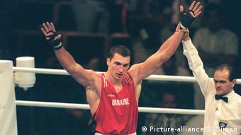 Klitschko at the 1996 Olympics