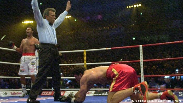 Бій Кличка проти Сандерса (архівне фото)