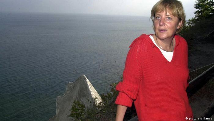 Ангела Меркель на отдыхе