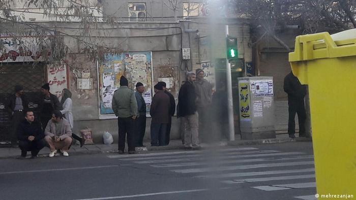 Iran Arbeitslosigkeit (mehrezanjan)