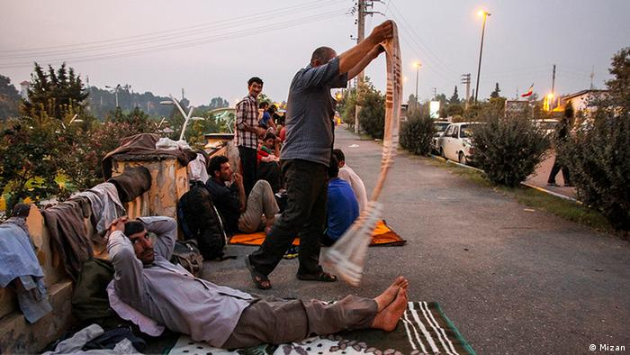 Iran Arbeitslosigkeit (Mizan)