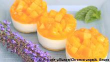Pfirsich-Joghurt-Törtchen   Verwendung weltweit