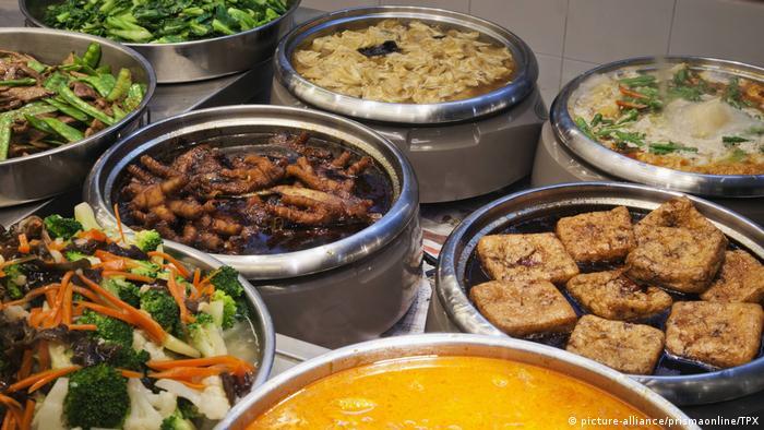 Singapur - Hawker Food Center