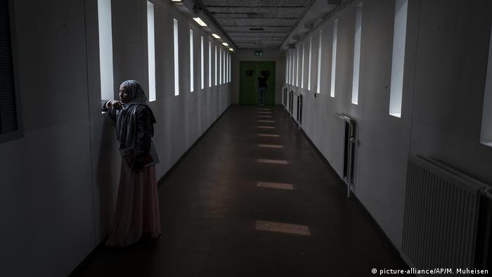 The Netherlands - refugees housed in former prison