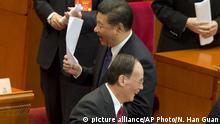 China CPPCC Konferenz - Präsident Xi Jinping
