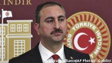 Türkei, Abdülhamit Gül, künftiger Justizminister
