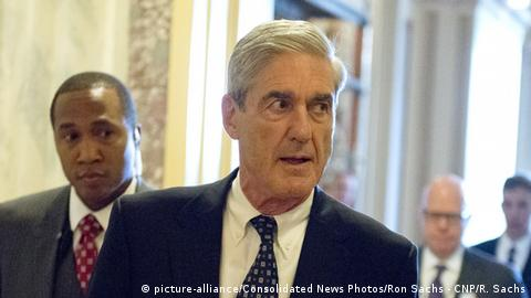 USA Sonderermittler Robert Mueller (picture-alliance/Consolidated News Photos/Ron Sachs - CNP/R. Sachs)