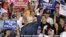 USA Präsident Donald Trump in West Virginia