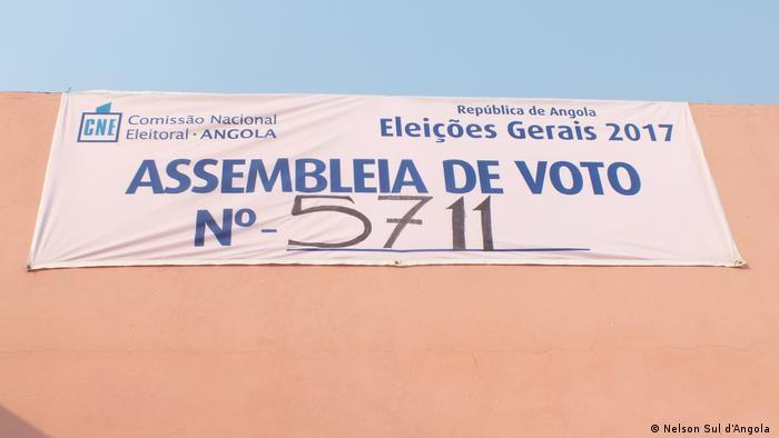 Angola - Wahlkampf
