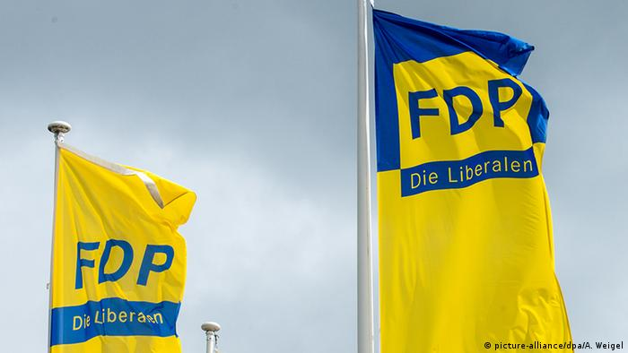 FDP Symbolbild - Die Liberalen (picture-alliance/dpa/A. Weigel)