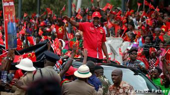 Kenia Wahlkampf | Präsident Uhuru Kenyatta
