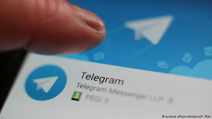 Telegram Messenger stock (picture alliance/empics/Y. Mok)