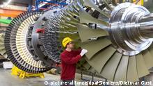 Düsseldorf Gasturbinenwerk Siemens