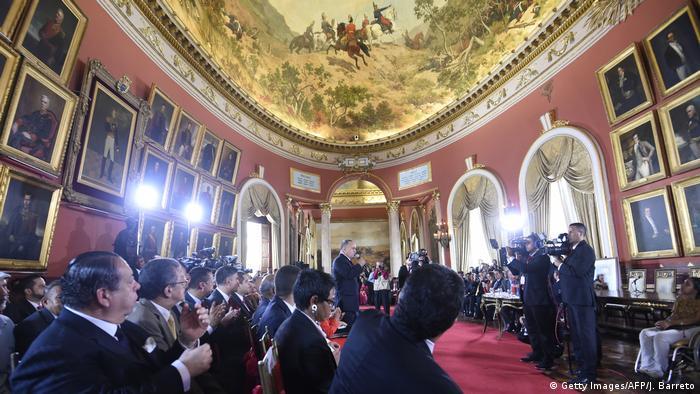 Venezuela - Verfassunggebende Versammlung in Caracas (Getty Images/AFP/J. Barreto)