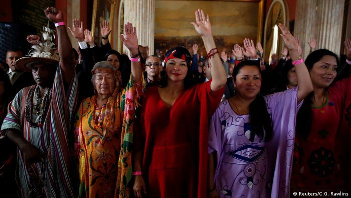 Venezuela - Verfassunggebende Versammlung in Caracas (Reuters/C.G. Rawlins)