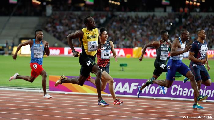 Leichtathletik WM London 2017- Usain Bolt