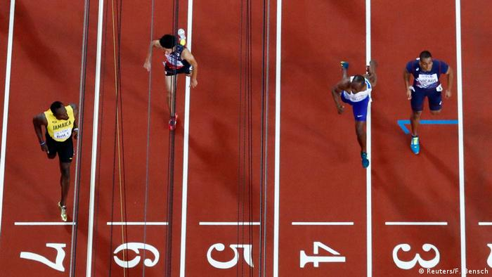 Leichtathletik WM London 2017- Usain Bolt (Reuters/F. Bensch)