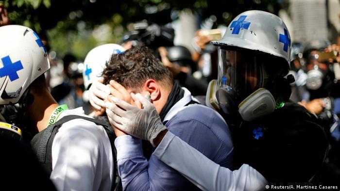 Venezuela - Verfassunggebende Versammlung in Caracas- Proteste (Reuters/A. Martinez Casares)