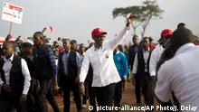 Ruanda Wahlen- amtierender Präsident Paul Kagame (RPF) (picture-alliance/AP Photo/J. Delay)