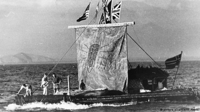 Thor Heyerdahls Expeditionen: Kon-Tiki (picture-alliance/AP Photo)