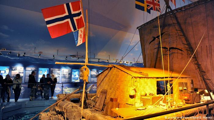 Norwegen Kon-Tiki von Thor Heyerdahl im Museum in Oslo (picture-alliance/dpa/S. Harms)