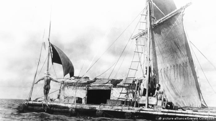 Thor Heyerdahls Expeditionen: Kon-Tiki (picture-alliance/Everett Collection)
