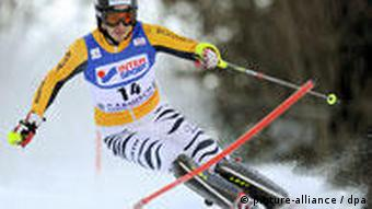 Felix Neureuther beim Slalom