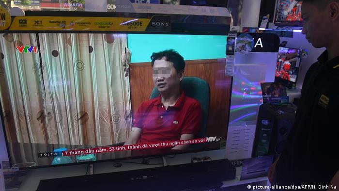 Trinh Xuan Thanh on Vietnamese TV