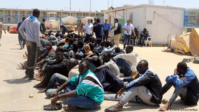 Libyen Migration (picture-alliance/dpa)