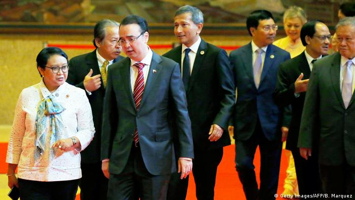 Philippinen ASEAN-Außenministertreffen in Manila (Getty Images/AFP/B. Marquez)