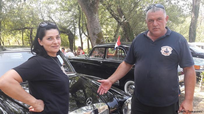 Kroatien Imotski - Oldtimer Mercedes Ausstellung: Ivan Topic Nota (DW/N. Tomasović)