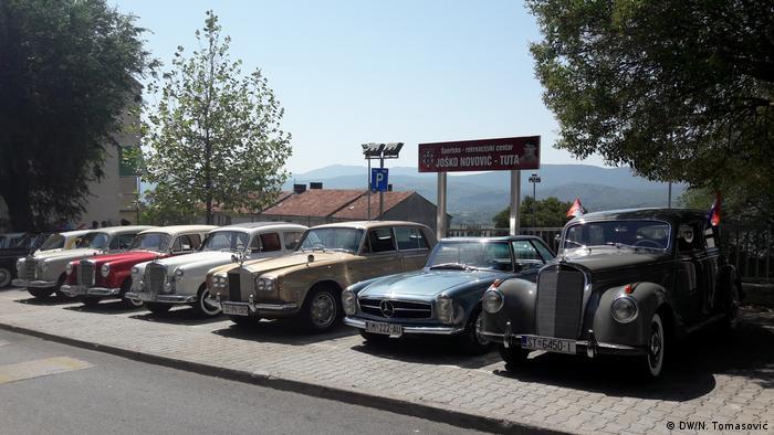 Kroatien Imotski - Oldtimer Mercedes Ausstellung (DW/N. Tomasović)