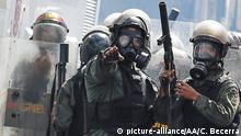Venezuela Polizei in Caracas