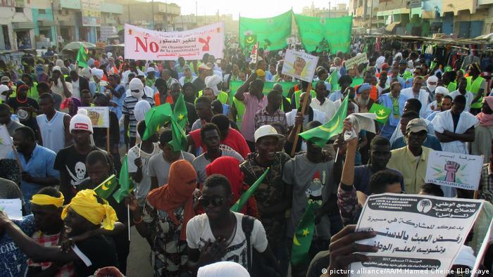 Mauretanien Aufgeheizte Stimmung bei Referendum über Verfassungsänderung | ARCHIV