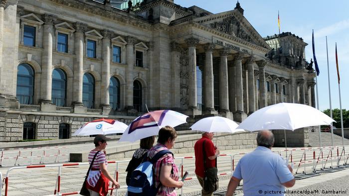 Deutschland Reichstag in Berlin