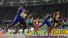 Leichtathletik-WM 100-Meter-Finale