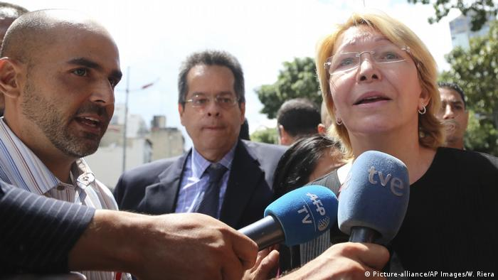 Luisa Ortega Diaz (Picture-alliance/AP Images/W. Riera)