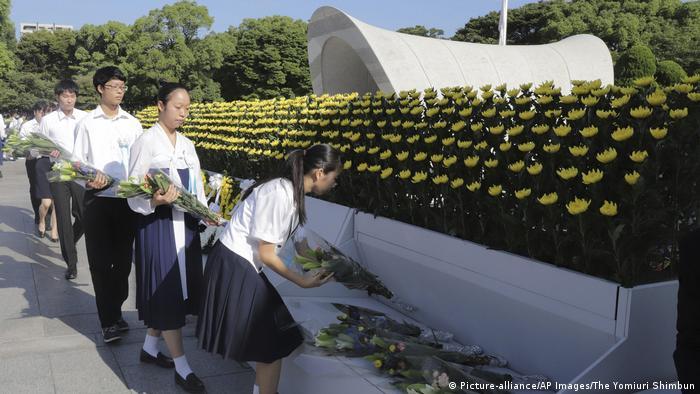 Hiroshima Erinnerung an Atombombenabwurf vor 72 Jahren (Picture-alliance/AP Images/The Yomiuri Shimbun)