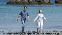 Kanada - Kejimkujik Seaside National and Historic Park - Justin Trudeau und Sophie Gregoire