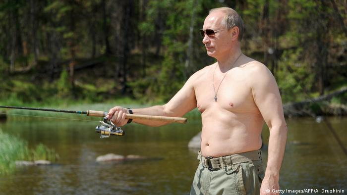 Russian President Vladimir Putin on vacation in Tyva