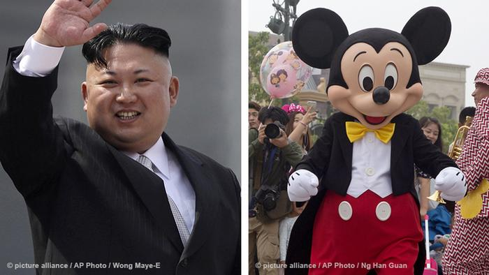 Kim Jong Un is a Mickey Mouse fan