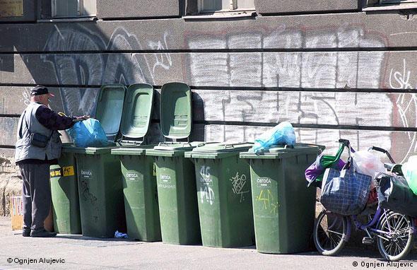 Kroatien Land und Leute Mülltrennung in Zagreb