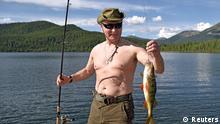 Wladimir Putin Urlaub